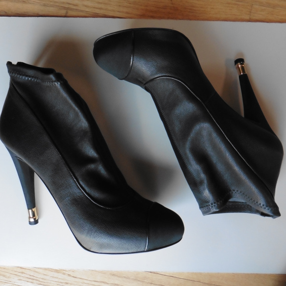 CHANEL Shoes - Authentic CHANEL Black Ankle Boots